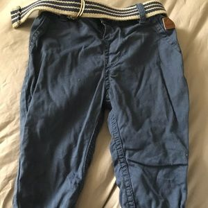 Baby boys lined pants age 3-6m